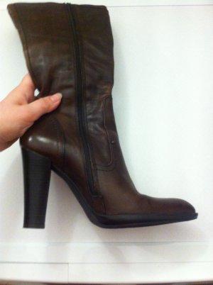 Stiefel aus Leder aus Como