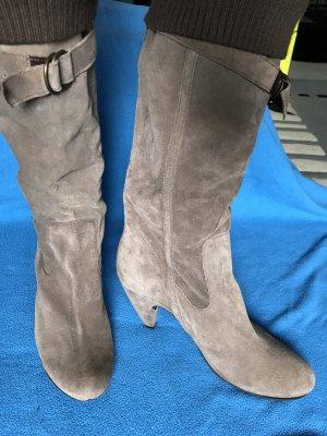 Stiefel aus Leder Italienische