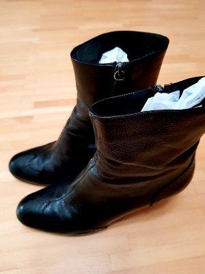 Halfhoge laarzen zwart