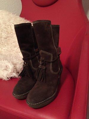 Hilfiger Winter Boots brown suede