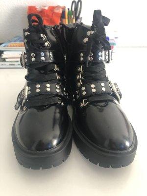 Asos Botas góticas negro