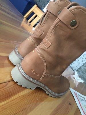 Bench Fur Boots light brown-brown