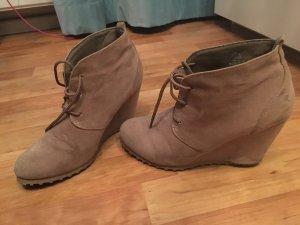 Stiefel beige Größe 38