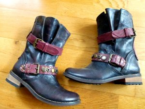Stiefel Biker Boots FEUD LONDON 37 NEU