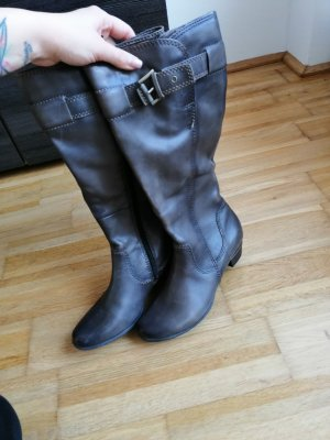 Bonita Winter Boots anthracite-grey brown