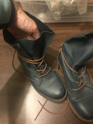 Boots petrol-brown