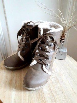 Stiefel Boots Keilabsatz Winter
