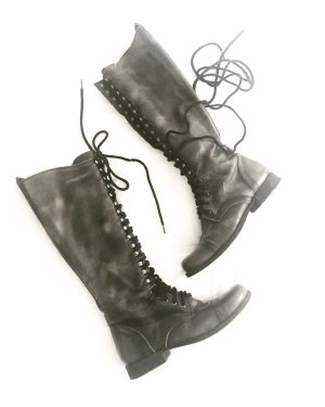 Steve Madden Lace-up Boots multicolored