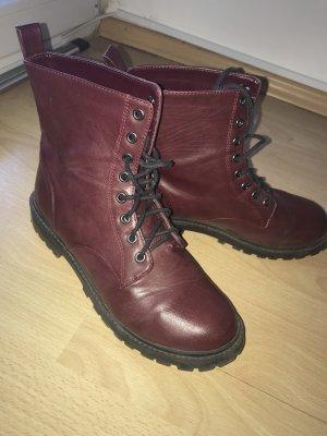Stiefel bordeaux Ankle Boots Gr 40