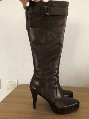Bruno Premi Platform Boots dark brown