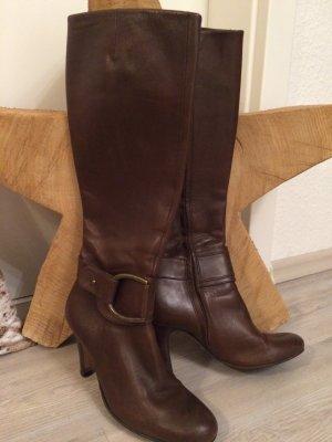 Stiefel *Buffalo* Leder - braun Gr. 36