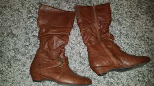 Graceland Short Boots brown