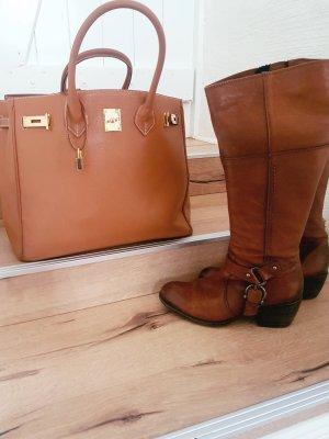 Stiefel Clarks Braun Sommer Leder