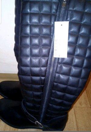 Stiefel  Claudia Ghizzani Gr 40 Neu schwarz Leder