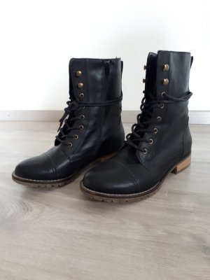 Graceland Lace-up Boots black