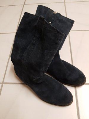 Stiefel dunkelblau Gr. 39 Marc O´Polo