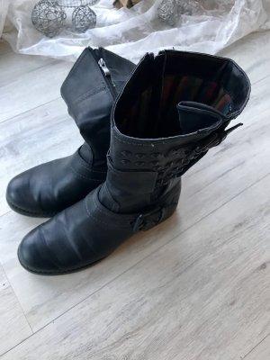 Marco Tozzi Halfhoge laarzen zwart