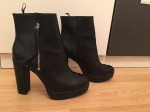 H&M Laarzen met hak zwart