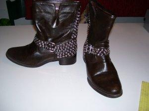 Korte laarzen roodbruin