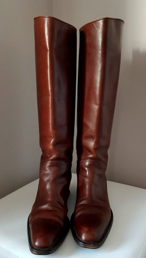 Bally Riding Boots brown-cognac-coloured