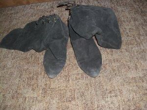 Schoenen zwart Suede