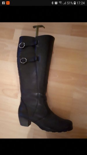 Gabor Wide Calf Boots black