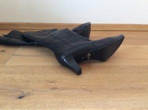 Stiefel Gabor Gr 6,5 wie 40 schwarz schmaler Schaft