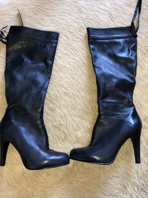 5th Avenue Heel Boots dark blue