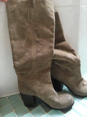 Stiefel Gr 37,5 Wildleder