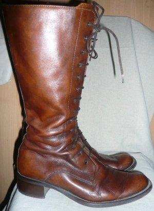 Stiefel,  Gr 38. Reparaturbedürftig
