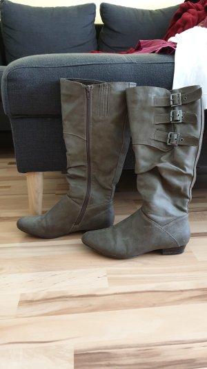 Ariane Stivale militare marrone-grigio
