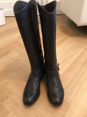Gant Botas de equitación marrón oscuro Cuero