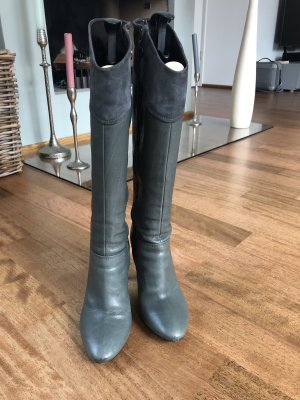 Alberto Gozzi Jackboots grey leather