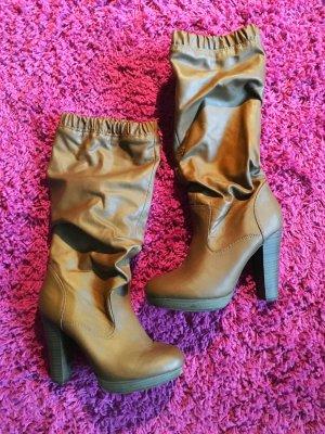 Stiefel Größe 38 ohne Reißverschluss