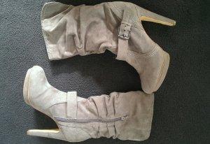 High Heel Boots light grey-grey