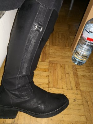 Young Spirit Bottes stretch noir