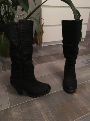 Stiefel H&M schwarz Gr. 37