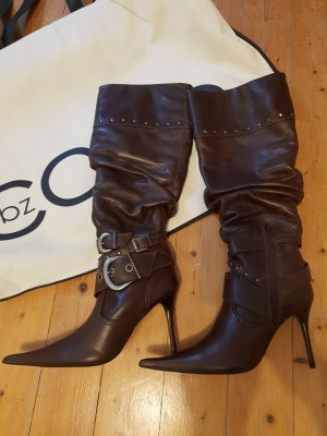 High Heel Boots brown-red