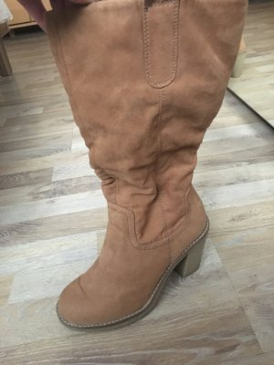 Stiefel in camel Farbe Gr 37