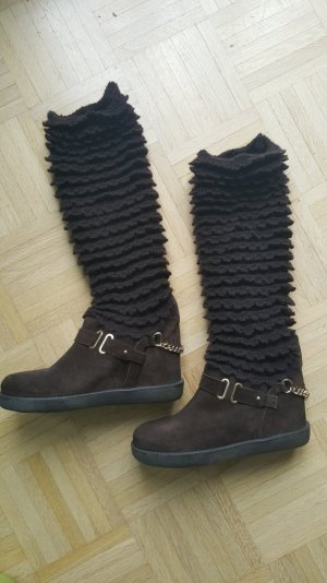 Twin set High Boots brown