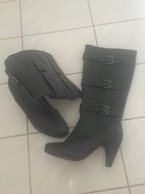 Stiefel in grau Größe 39