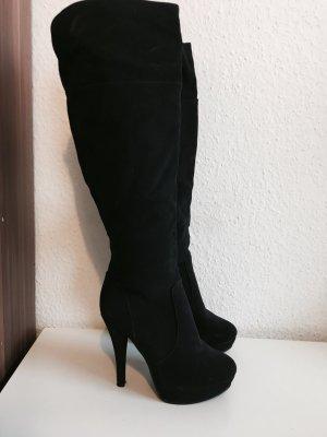 Stiefel in schwarz Größe 36
