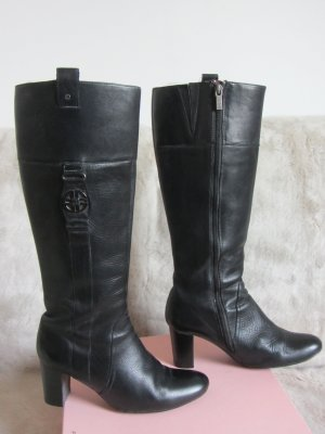 Jette Joop Heel Boots black leather