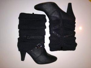 Stiefel, kurz, schwarz