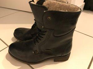 Stiefel Landrover schwarz echtes Leder