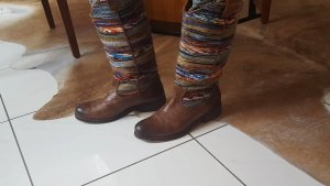 Lazamani Jackboots brown leather