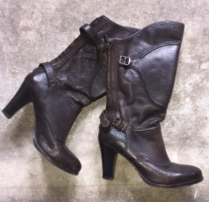 Belstaff Heel Boots multicolored leather