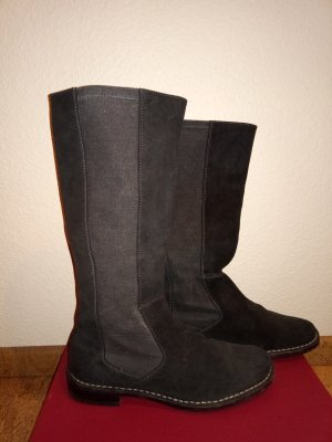 Closed Jackboots black-grey brown leather