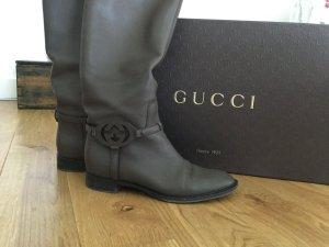 Stiefel Leder Gucci 39,5