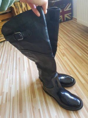 Stiefel (Leder Optik)